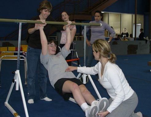 Mariah in Gym